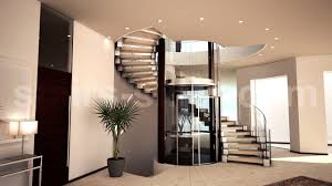 Stair Finishes Pictures Helical Staircase Wooden Steps Metal Frame Without Risers