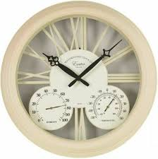 15 inch exeter wall clock and