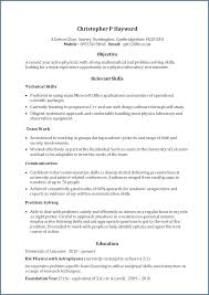 Resume For Applying To Graduate School Curriculum Vitae Template For