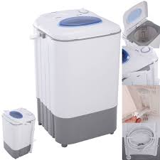 Mini Washing Machines Costway Manual Mini Portable Washing Machine 77 Lbs Single Tub