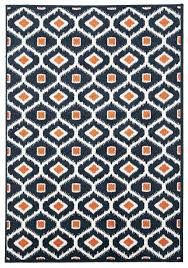 full size of orange indoor outdoor rugs navy blue and orange area rug archives rugs model