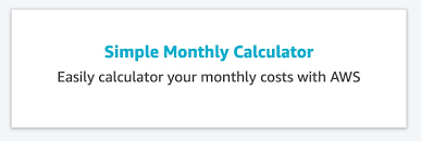 Simple Monthly Calculator