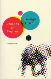 george orwell by david levine animal farm secret george orwell shooting an elephant and other essays