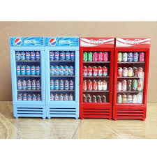 Miniature Vending Machine Unique 48482 Miniature Dollhouse Toy Refrigerator Without Drinks For