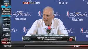 gregg popovich hilarious pre game interview before game 7
