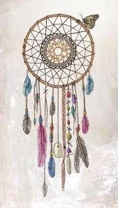 Dream Catchers Sketches Drawn dreamcatcher Pencil and in color drawn dreamcatcher 66