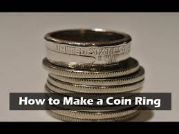 Coin Ring Hole Size Chart How To Make A Coin Ring From A Quarter 8 Steps With Pictures