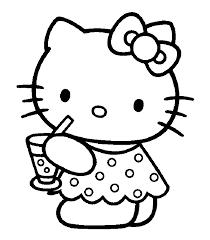 Hello Kitty Da Colorare Grande Az Colorare