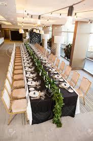 Wedding Reception Table Layout Wedding Decor Interior Concept Of Festive Table Decor Table