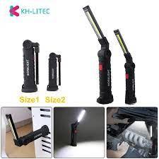 Khlitec COB Cầm Tay Di Động Công Việc Đèn Sạc USB Đa Chức Năng Và Gấp Khẩn  Cấp Đèn Di Động Đèn Led Làm Đèn|Portable Lanterns
