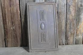 Alte Antike Ofenplatte Gusseisen Kaminplatte Gussofen