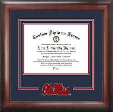 university of mississippi diploma frame ole miss rebels university of mississippi spirit diploma