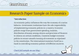 research paper sample on economics and research paper sample on obesi 4 essayshark research paper sample
