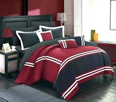 black and red bedroom set – vinhomekhanhhoi