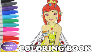 Mia And Me Yuko Coloring Book Pages Mia Me Coloring Pages Mia And