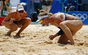 Beach volleyball-America's Ross and ...