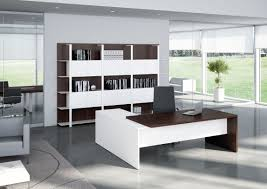 Office, Mesmerizing Contemporary Office Desks Ultra Modern Office Furniture  White Office Desk With Wooden: ...