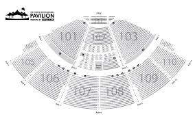 Cynthia Woods Mitchell Pavilion Seating Chart Seating Chart