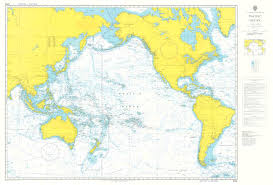 Ocean Charts Admiralty Chart 4002 A Planning Chart For The Pacific Ocean