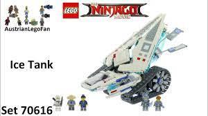 Lego Ninjago Movie 70616 Ice Tank - Lego Speed Build Review - YouTube