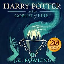 harry potter and the goblet of fire book 4 audiobook cover art