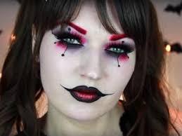 10 cute n creepy clown makeup ideas for