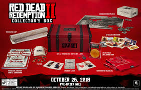 red dead redemption 2 collector s box only at gamestop includes