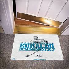 CRISTIANAL RONALDO REAL MADRID BEDROOM CARPET BATH OR DOORMATS