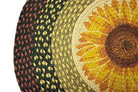 sunflower kitchen rugs on living room area rugs