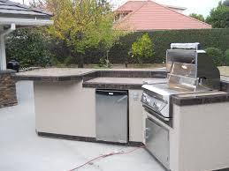 Bbq Outdoor Kitchen Islands Custom Built Outdoor Kitchen Delivered To Orange County Ca Built