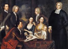 c american women paintings of th century american families paintings of 18th century american families