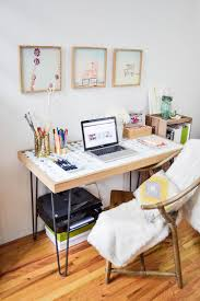 small home office space home. Small Spaces: How To Create A Home Office In Tiny Apartment Space 7
