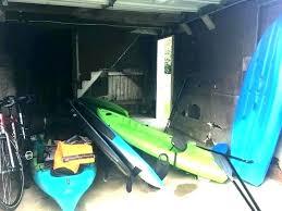 kayak storage shed outdoor and sup rack diy 2 s