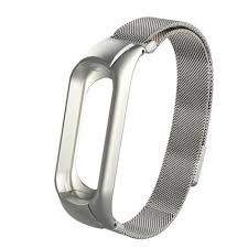 <b>Металлический ремешок-браслет для Xiaomi</b> Mi Band 3/ Mi Band 4