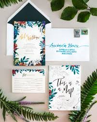 179 best wedding invitation images on pinterest wedding Michael Kors Wedding Invitations tropical garden party copper foil wedding invitations Walmart Wedding Invitations