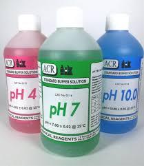 Ph 4 7 10 500 3 Pack Of Ph Buffer Solution Ph 4 Ph 7 Ph 10