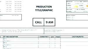 Production Schedule Template Excel Free Download Food Production Sheet Template