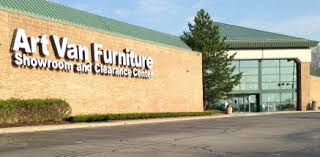 Art Van Furniture Store in stock Park Mich