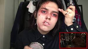 revenge era gerard way makeup timelapse