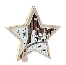 Details Zu Led Holz Stern Winter Schneemann Beleuchtet Weihnachten Weihnachtsstern Fenster