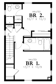 Small 2 Bedroom Cabin Plans House Plan D67 884 Small 2 Bedroom Houseplan Cabin Plan The House