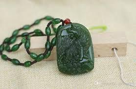 jasper mountain tiger talisman manual sculpture necklace pendant