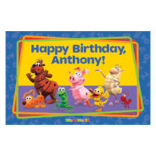 The Official Pbs Kids Shop Wordworld Happy Birthday Placemat
