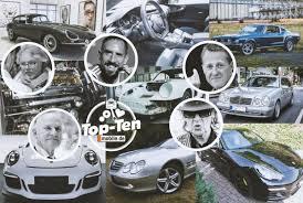 Top Ten Die Besten Promi Autos Auf Mobilede Motorkultur