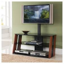wood tv stand with mount. glass 24 tv stand with mount \u2013 mahogany - home source industries, brown wood tv