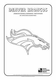 cool coloring pages nfl american football clubs logos american football
