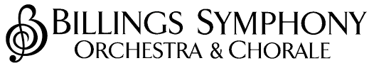 Image result for billings symphony orchestra & chorale Logo