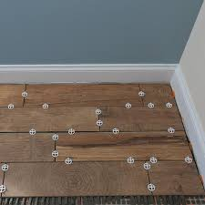 Wood Tile Floor Patterns Adorable How To Install WoodLook Floor Tile