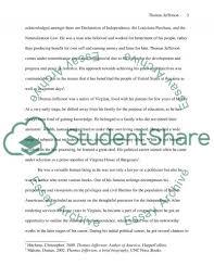 thomas jefferson research paper example topics and well written thomas jefferson essay example