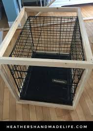 How to make a dog crate Pet Kennel Diy Dog Crate Cover heathers Handmade Life Heathers Handmade Life Diy Dog Crate Cover